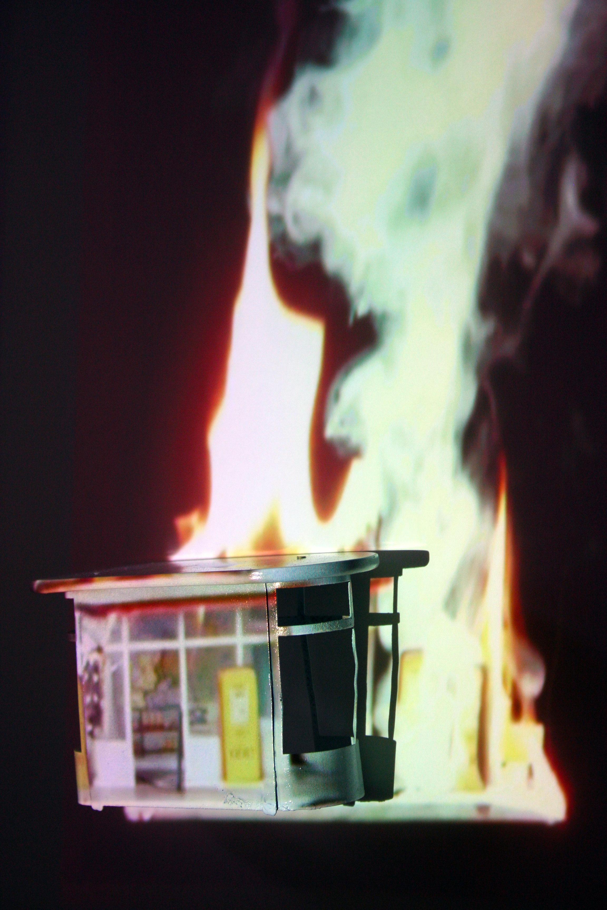 Burning Gas Station (2013)
